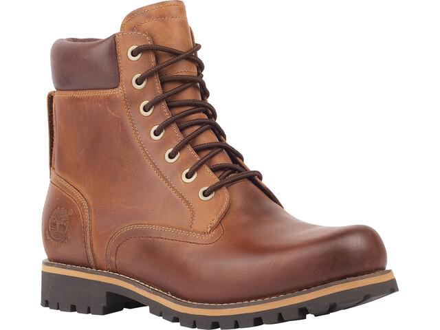 """Timberland Rugged WP Boots 6"""" Herren medium brown full-grain"""